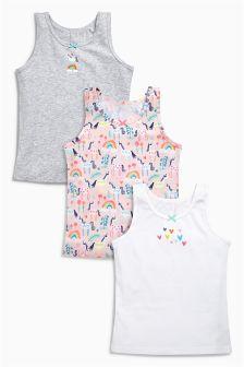 Unicorn Vests Three Pack (1.5-12yrs)