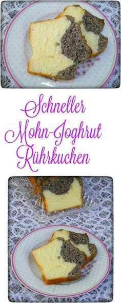 Mohn-Joghurt Kuchen ist wirklich ein Blitzkuchen und dazu so lecker. Wenn sich Besuch ankündigt oder ich mal wieder Lust auf Mohn habe, ist dieser Kuchen wirklich meine erste Option. Er ist in 5 Minuten fertig und muss nur noch in den Backofen geschoben werden.