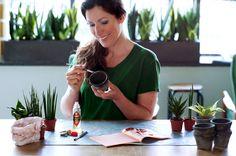 DIY met vrouwentong (Sansevieria) #mwpd #Mooiwatplantendoen
