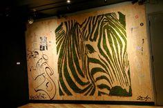 Street art by Mosstika