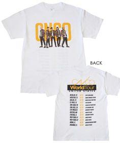 CNCO Band Photo White T-Shirt - X-Large
