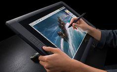 Tech lust.......using the Wacom Cintiq 22HD to digitally paint directly onto the screen!!!