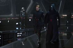 Again, Karia's boys. Hux is... definitely more her boy than Kylo, but she does get the jokes in.