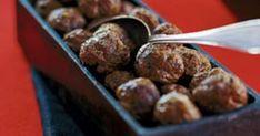 Ädla julköttbullar med älgfärs - Recept - Matklubben.se