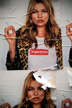 Supreme's posters, once a year.