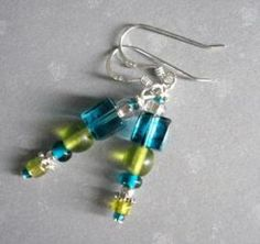 EARRING DESIGN IDEAS- several video tutorials for making beaded earrings