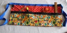 Your place to buy and sell all things handmade Teacher Apron, Teacher Clothes, Teacher Outfits, First Day Of School, Back To School, Waitress Apron, Yellow Print, Full Figured, School Teacher