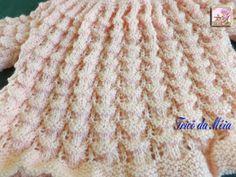 CASAQUINHO AZUL        Foi feito por mim e a receita você vai encontrar no blog Crochê e Tricô para os Pequeninos      CASAQUINHO ROSA      ...