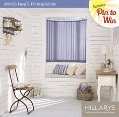 Mirella Pacific Vertical Blind #Hillarys #PinItToWinIt