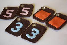 Tutorial: Felt Flash Cards / Memory Game - Sew Much Ado