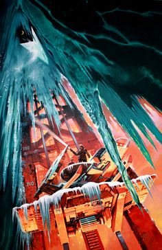 Paul Alexander - Cover of Time of the Great Freeze by Robert Silverberg Comic Art