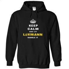 Im LEHMANN - #tee itse #tshirt scarf. I WANT THIS => https://www.sunfrog.com/Names/Im-LEHMANN-orvks-Black-Hoodie.html?68278