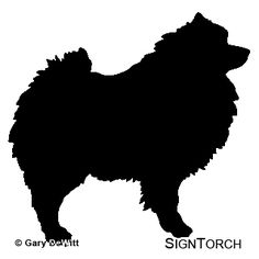 """IT/'S A KEESHOND THING YOU WOULDN/'T UNDERSTAND 4/"""" DOG STICKER"""