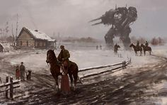 Художник Jakub Rozalski (MR.WEREWOLF) — Компьютерная графика и анимация — Render.ru