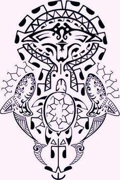 Animais marinhos #tribal
