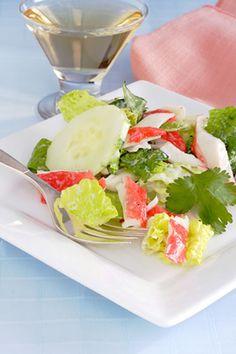 Easy Imitation Crab Salad
