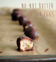 No-Nut Butter Easter Eggs #paleo #realfood #canadagirleatspaleo