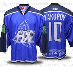 Authentic Neftekhimik hockey jersey by Lutch USA 77d0eeb0bcf