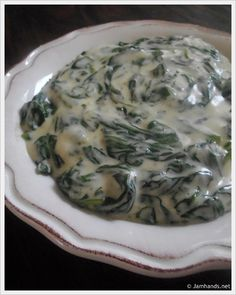 Boston Market Creamed Spinach - This is exactly like Boston Market's!!!! I made it for Christmas and it was a huge success. I will be making this a lot more!