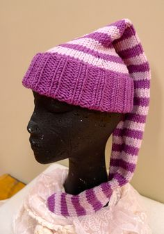 Wee Willie Winkie Hat Knitting Designs, Knitted Hats, Winter Hats, Beanie, Pattern, Fashion, Knitting Projects, Moda, Fashion Styles