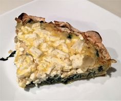 Jim's Gotta Eat: JGE 113 – Spinach and Zucchini Quiche with Japanese Yam Crust