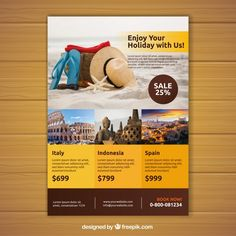 Medical Brochure, Travel Brochure, Design Plano, Tourism Day, Poster Background Design, Flyer Layout, Banners, Ads Creative, Print Ads