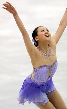 Mao Asada     フィギュア:浅田、首位発進 スケートアメリカ女子SP