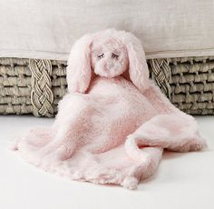 Plush Security Blanket | Stroller & Security Blankets | Restoration Hardware Baby & Child