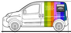 Vehicle Livery Concept for the Ironbridge Soap Company