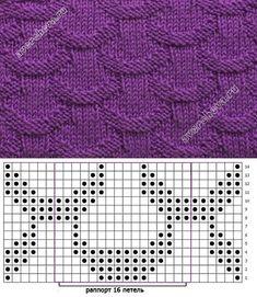 44 New Ideas Knitting Loom Patterns Baby Crochet - Diy Crafts - maallure Knitting Stiches, Loom Knitting Patterns, Knitting Charts, Knitting Socks, Knitting Designs, Crochet Stitches, Baby Knitting, Stitch Patterns, Knit Crochet