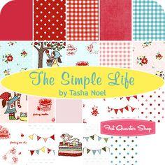 The Simple Life Fat Quarter Bundle Tasha Noel for Riley Blake Designs - Fat Quarter Shop