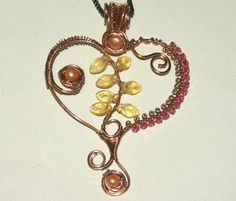 Unique Gift for Her Wire Wrapped Copper by groovychickjewelry, $59.00