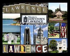 Lawrence Kansas Photo Collage via etsy