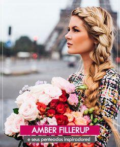 12 lindos penteados de Amber Fillerup