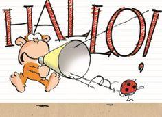 Halllooo!!!   #Hallmark #HallmarkNL #Leendertjanvis #wenskaart