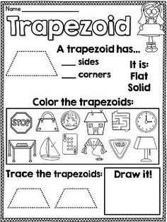 1st grade geometry worksheets for students education math grade 1 kindergarten math. Black Bedroom Furniture Sets. Home Design Ideas