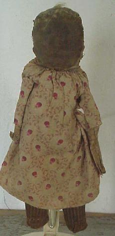 19thC Rag Doll