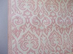 Vintage Wall Paper / Made in USSR / Scrapbooking / by EUvintage