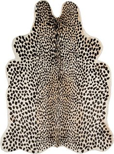 Erin Gates Acadia Collection Cheetah Faux Hide Area Rug 5...