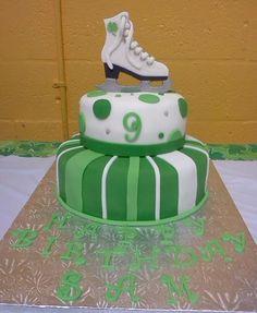 St. Patrick's Day/Birthday Cake (Kendall Ice Arena) by Elaynes Custom Cakes, via Flickr