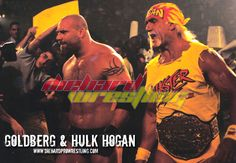 Hulk Hogan and Goldberg join forces in WCW.