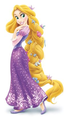 Even though Rapunzel is new in town, fresh out of her tower, it's great that someone filled her in on the appropriate footwear. Cute dress, of course, and her hair is our favorite; best updo of the season, best use of fresh flowers! (P.S. You can learn how to make Rapunzel's braided hairstyle yours.)