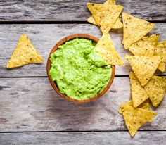 Guacamole mit Cottage Cheese