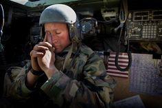 Iraq War saying a prayer