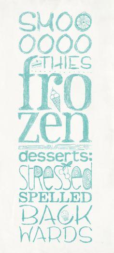 typographic illustrations