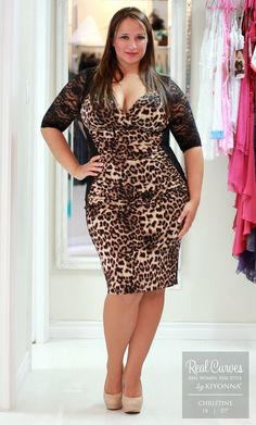 Real Curves for Stop and Stare Ruched Dress