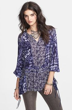 Crazy in love with this print tunic