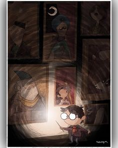 My piece for @planetpulp's November theme...#Magic #HarryPotter #PutThatLightOut! #sleepywizards