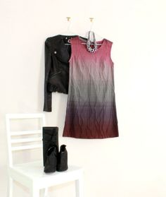 SO sweet, this Dip-Dye Shift Dress made for Petites is super-cute!