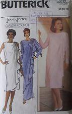 BUTTERICK 3328 – EVENING DRESS - SIZE 8-10-12 - VINTAGE 1980s